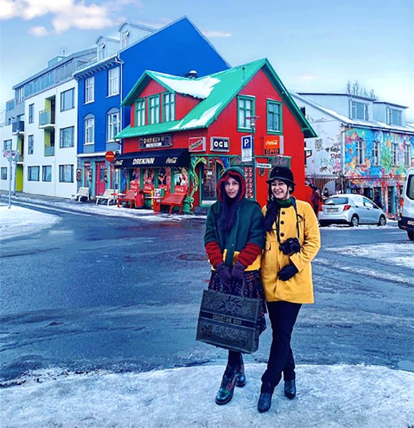 Tengah Kota Reykjavik