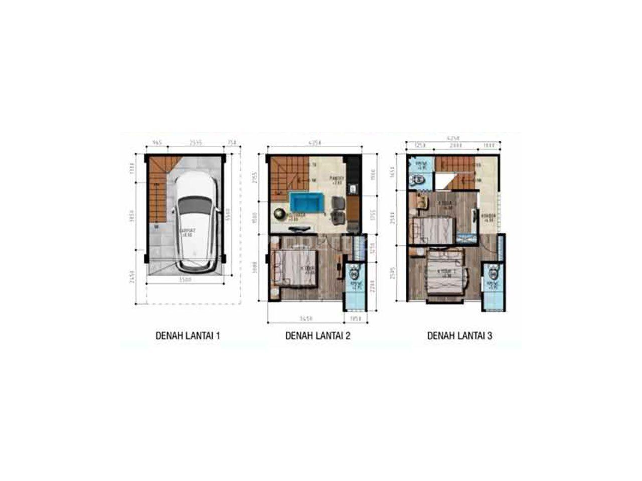 3-Storey Aparthouse in Blok M, Jakarta Selatan