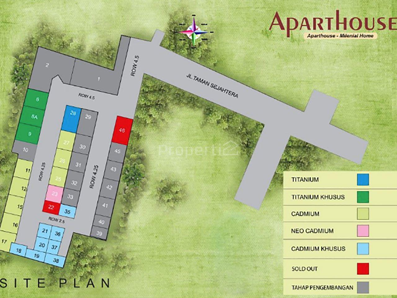 3-Storey Aparthouse in Blok M, Cilandak