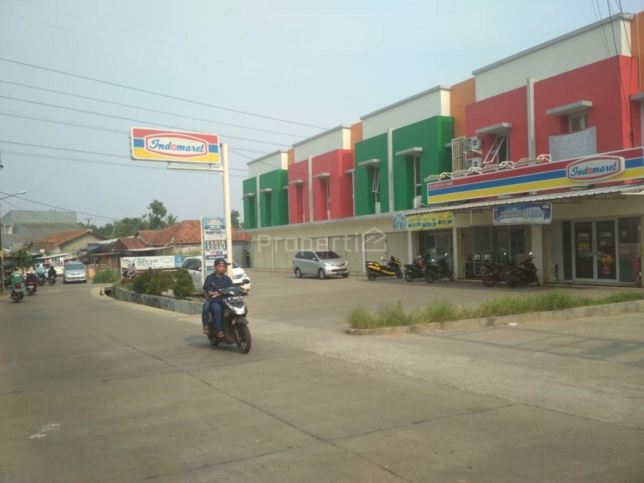 Ruko Pinggir Jalan Raya di Bojonggede Siap Pakai, Jawa Barat
