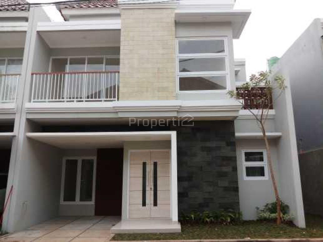 Rumah Baru 2 Lantai dalam Hunian Prestisius di Bintaro, Banten