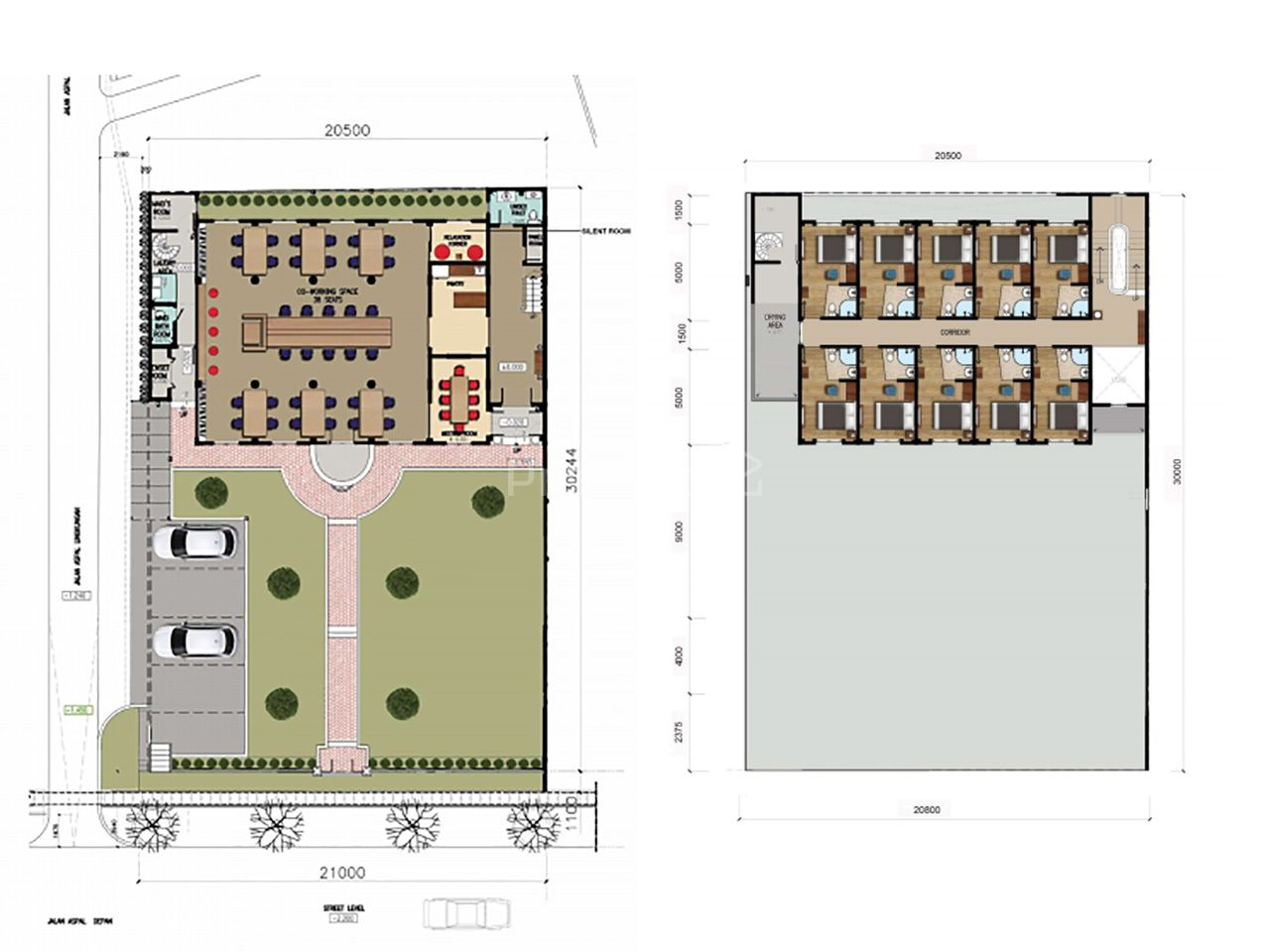 Land and Commercial Building Investment in North Meruya, Kembangan