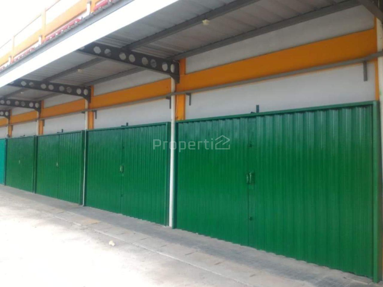 Kios Baru di Pasar Parung, Jawa Barat