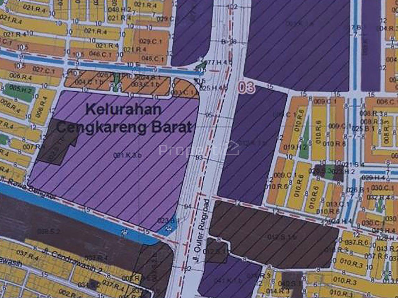 2.3 Ha Commercial Land in West Cengkareng, West Jakarta, Jakarta Barat