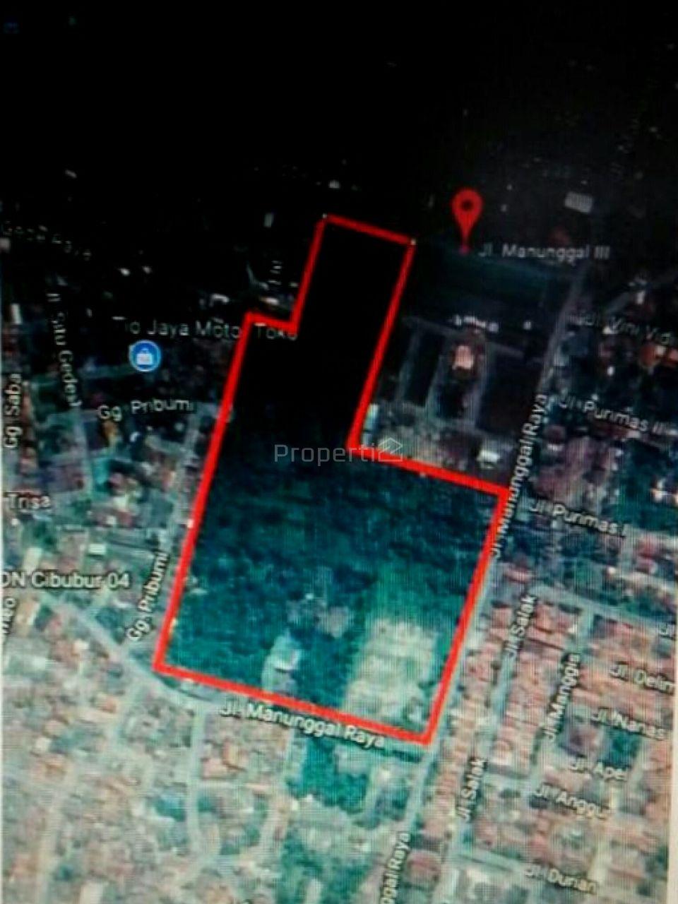 Flat Land 9.5 Ha in Cibubur, Jakarta Timur
