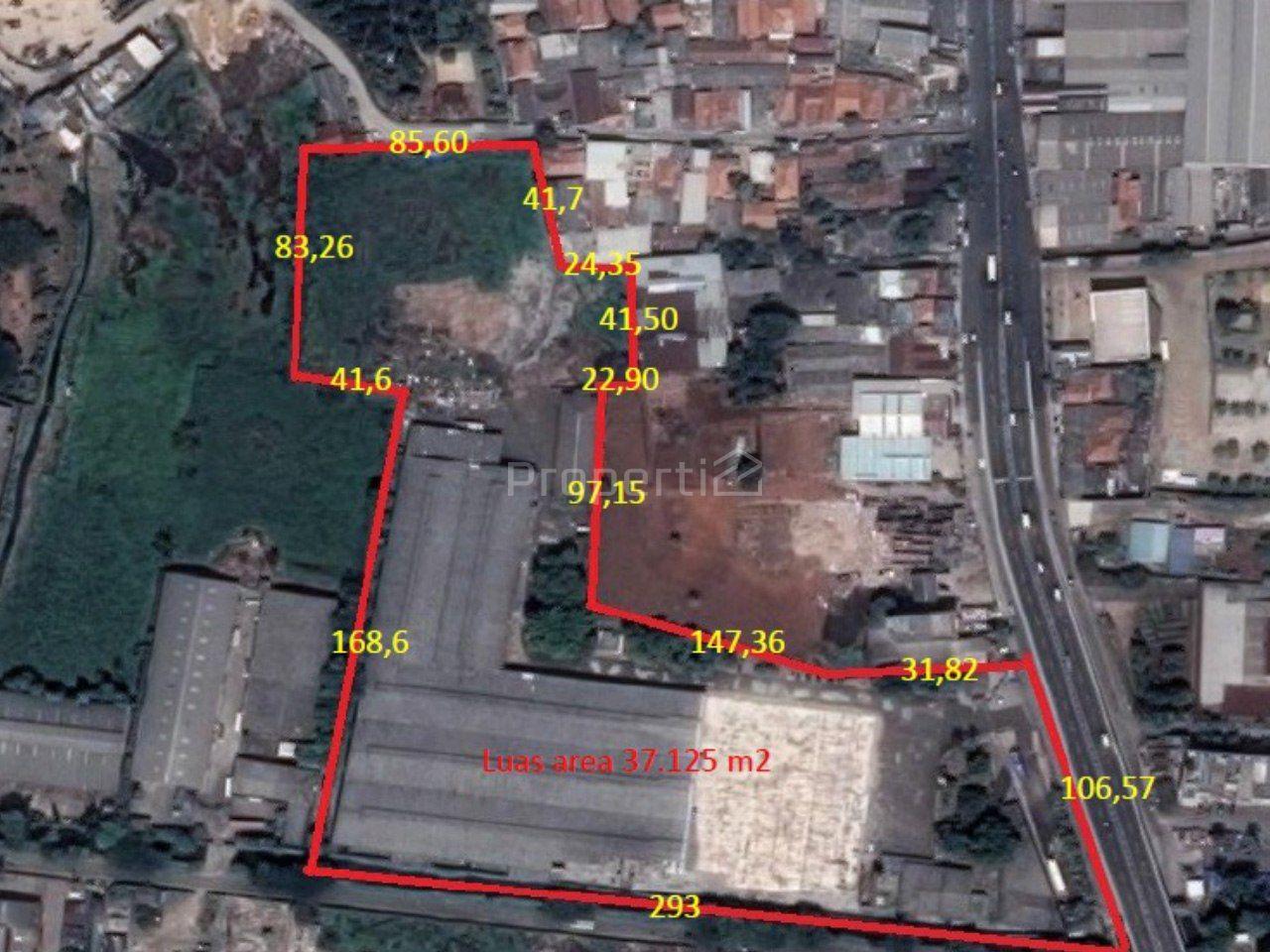 Lahan Komersial di Kota Tangerang, Banten