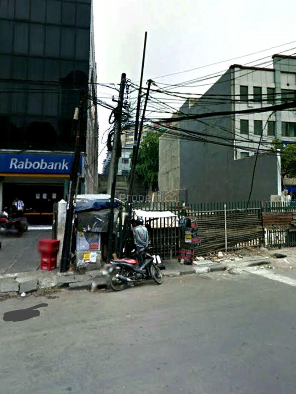 Lahan Persegi di Pasar Baru, Jakarta Pusat, DKI Jakarta
