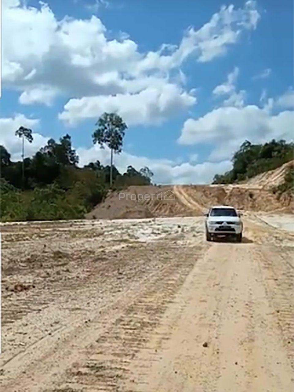 Lahan Peruntukan Pergudangan di Kariangau, Balikpapan Barat, Kalimantan Timur