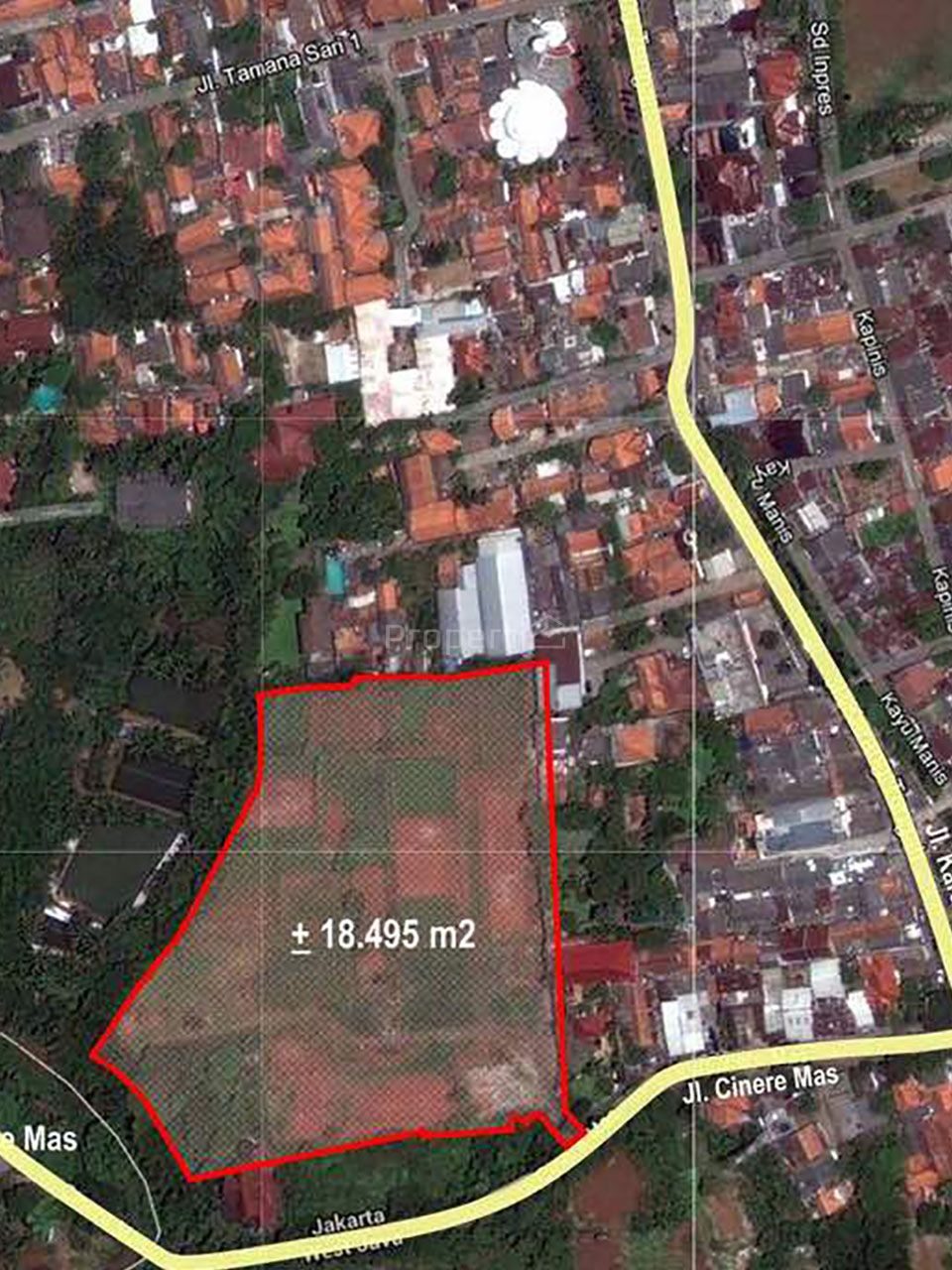 Land for Housing and Apartment Allocation in Cinere, Cilandak