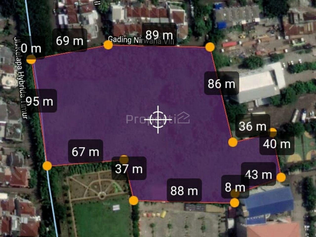 Lahan Peruntukan Perumahan dan Gudang di Kelapa Gading, Jakarta Utara