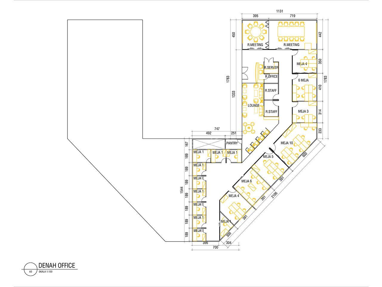 Office Space di St Moritz, Lantai 9, Kembangan
