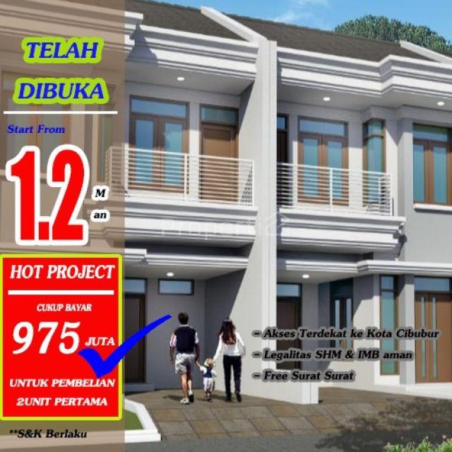 Rumah Modern di Jatisampurna, Jawa Barat