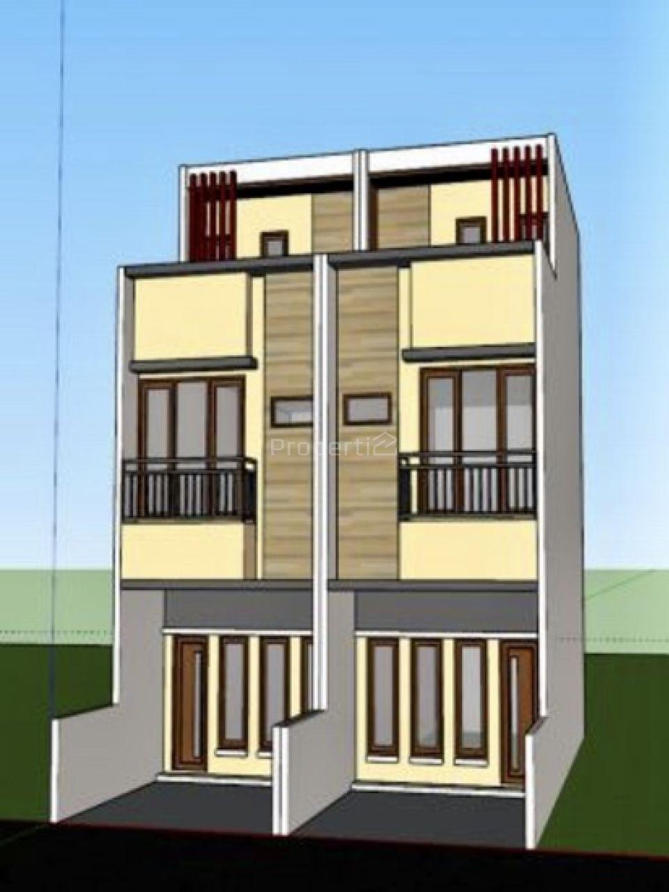 Rumah 2,5 Lantai di Duri Kepa, Jakarta Barat, DKI Jakarta