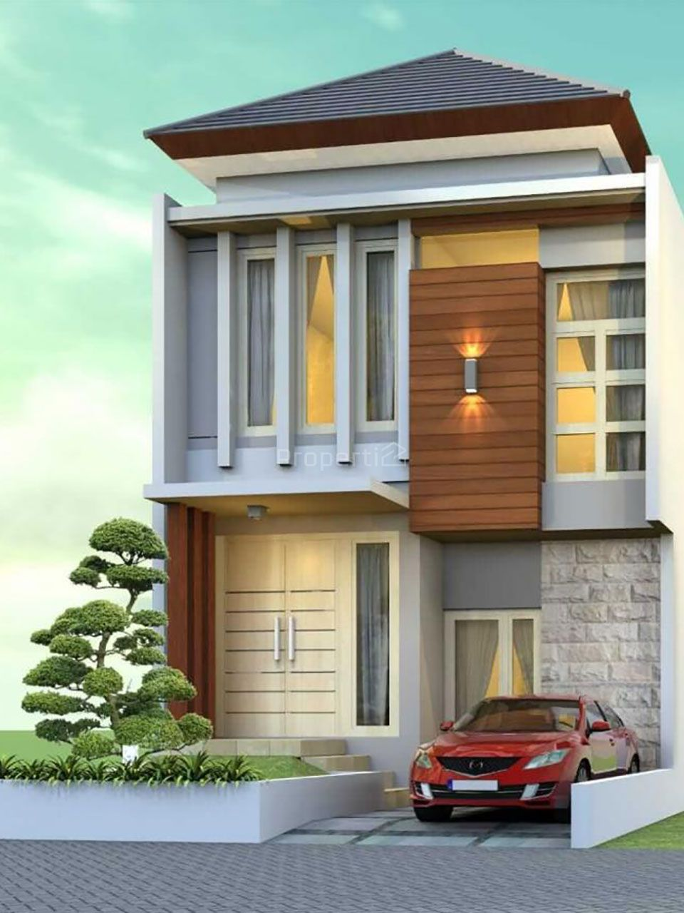 2-Storey House in Sharia Residence in Malang City, Jawa Timur