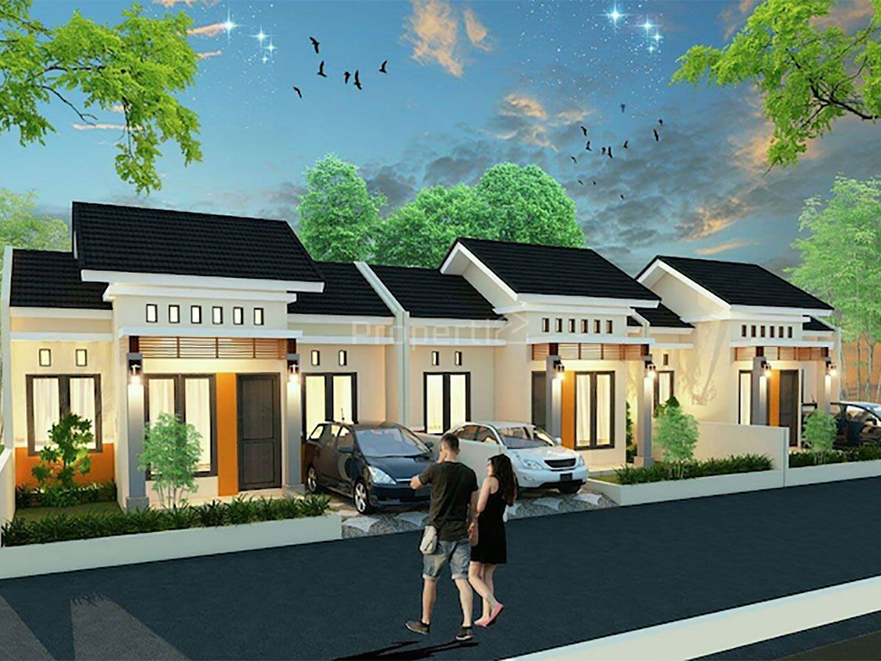 New House in a Cluster, Pandeglang, Banten