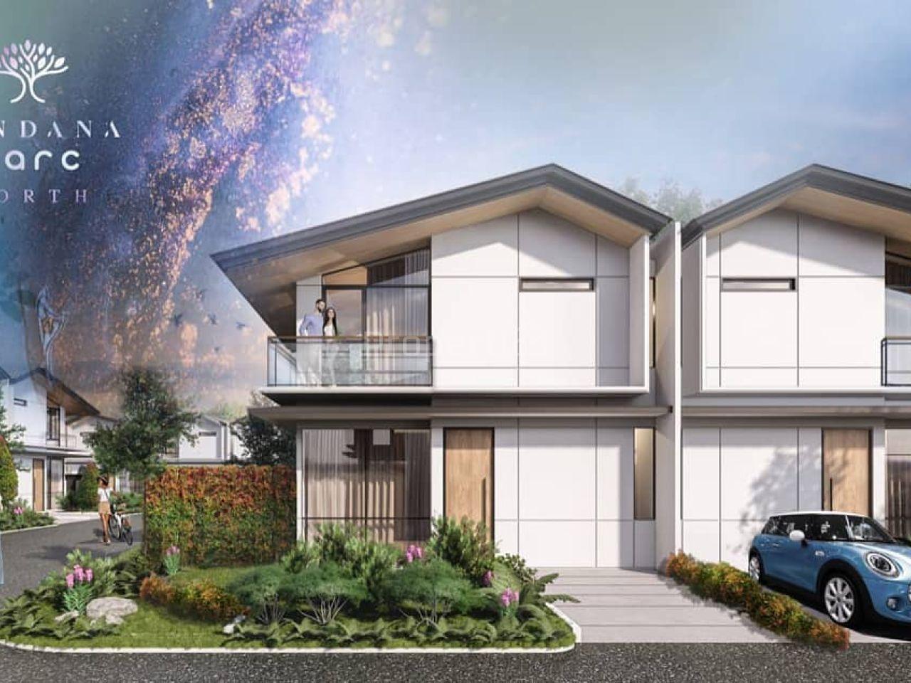 New House at Cendana Parc North, Lippo Karawaci, Banten