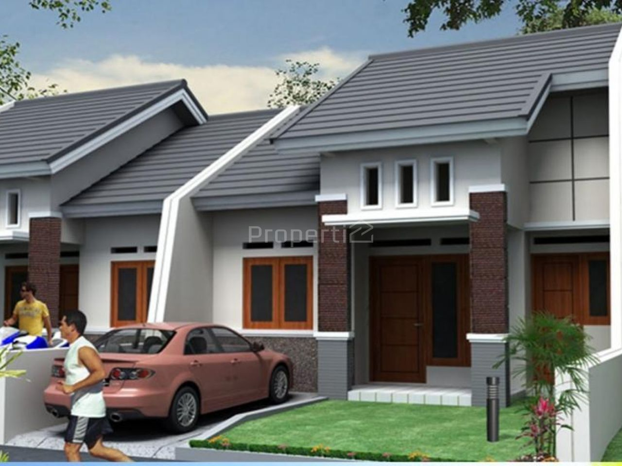 Rumah Baru di Griya Asri Sentosa, Jawa Timur