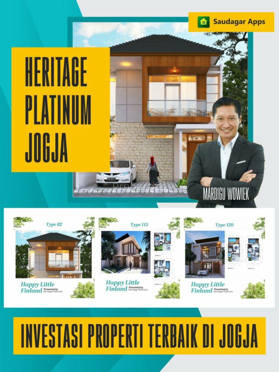 Rumah 2 lantai Heritage Platinum di Jogja, Konsep Finlandia, Di Yogyakarta