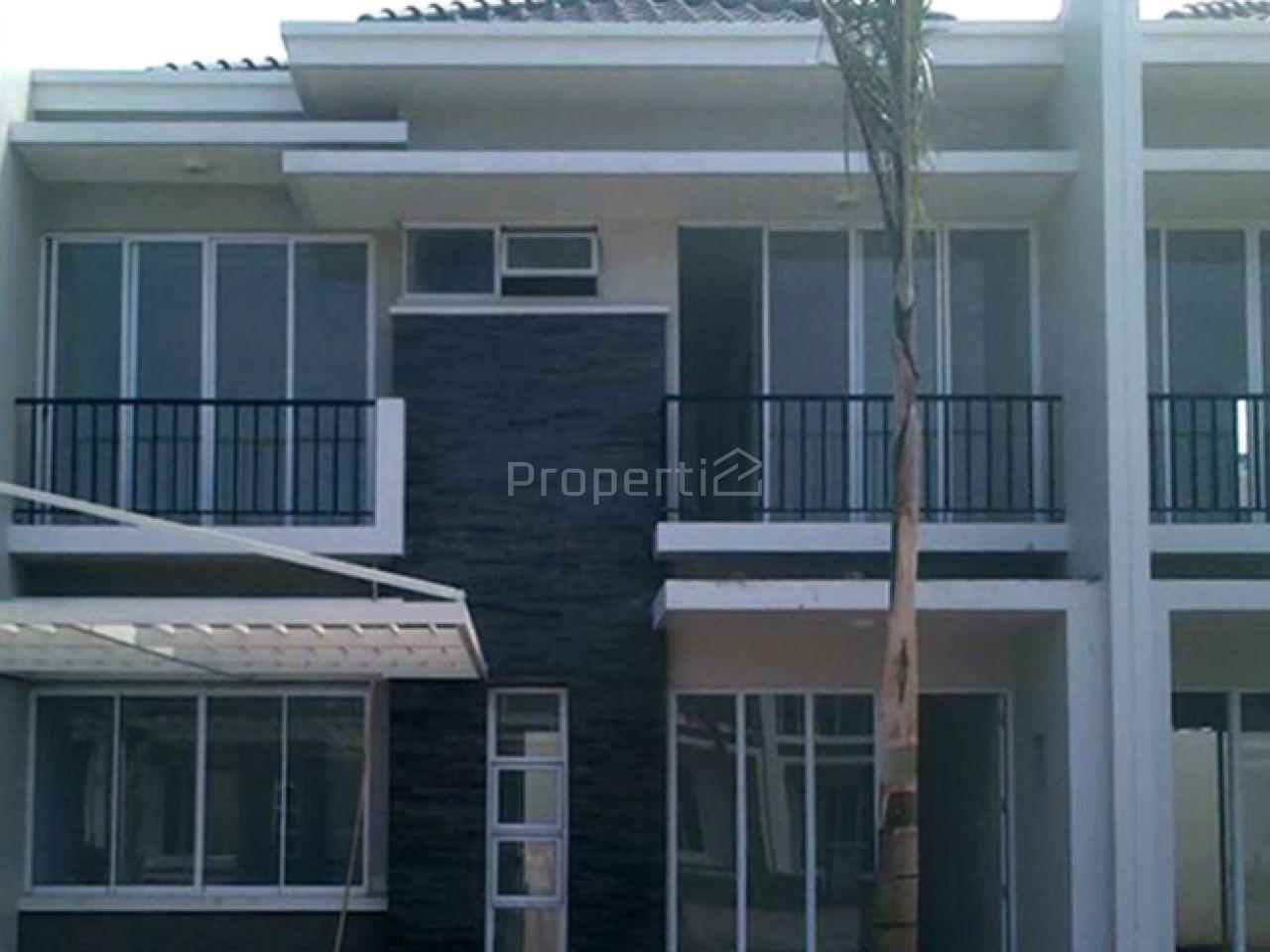 Rumah Baru Minimalis 2 Lantai dalam Kompleks Elite di Cibubur, Jawa Barat