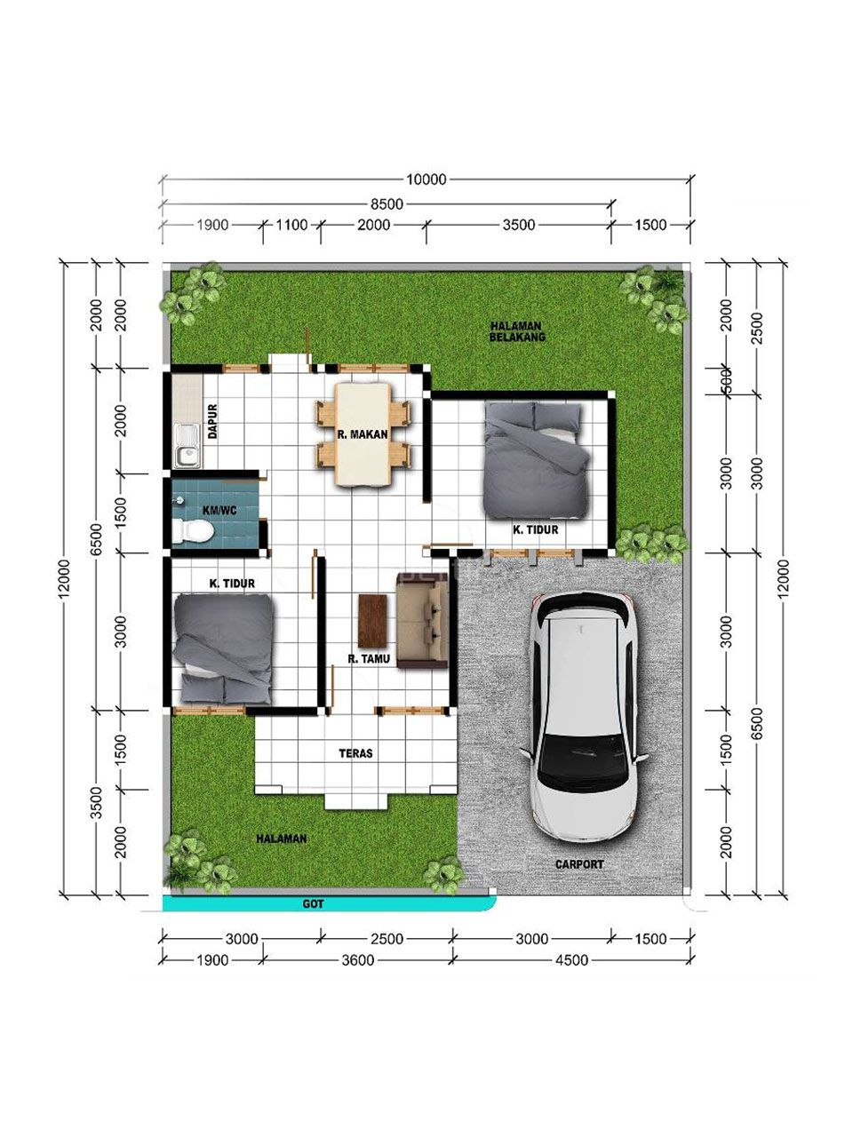New Cluster House Ready to Occupy in Jimbaran, Kuta Selatan