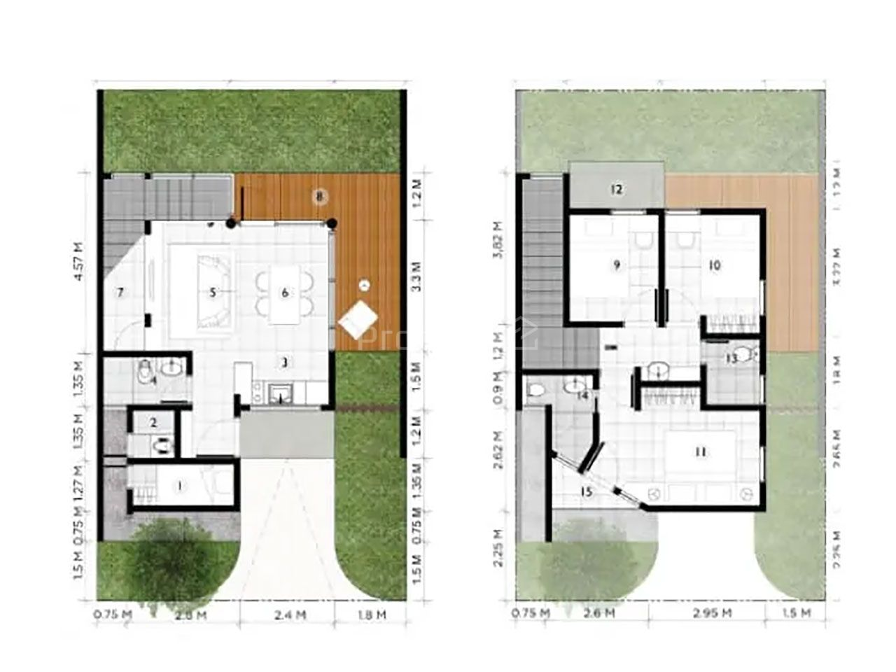 Cluster House at Chelsea Modern Home, Jakarta Timur