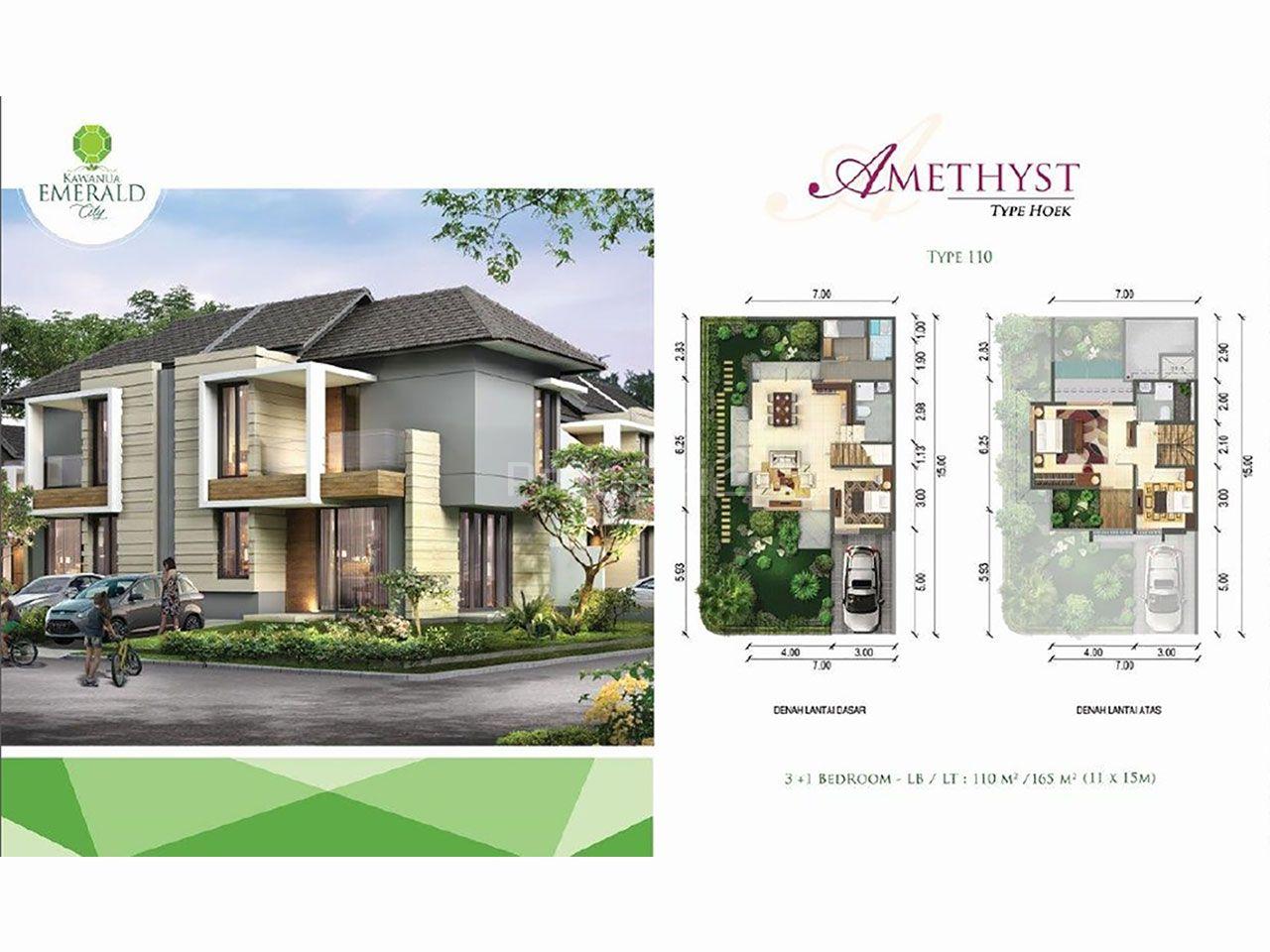 Cluster House at Emerald, Ring Road 2 Manado, Mapanget