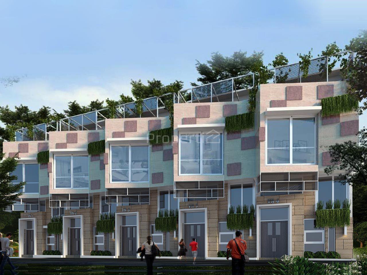 Rumah Cluster Serasa Apartemen di Lebak Bulus, DKI Jakarta