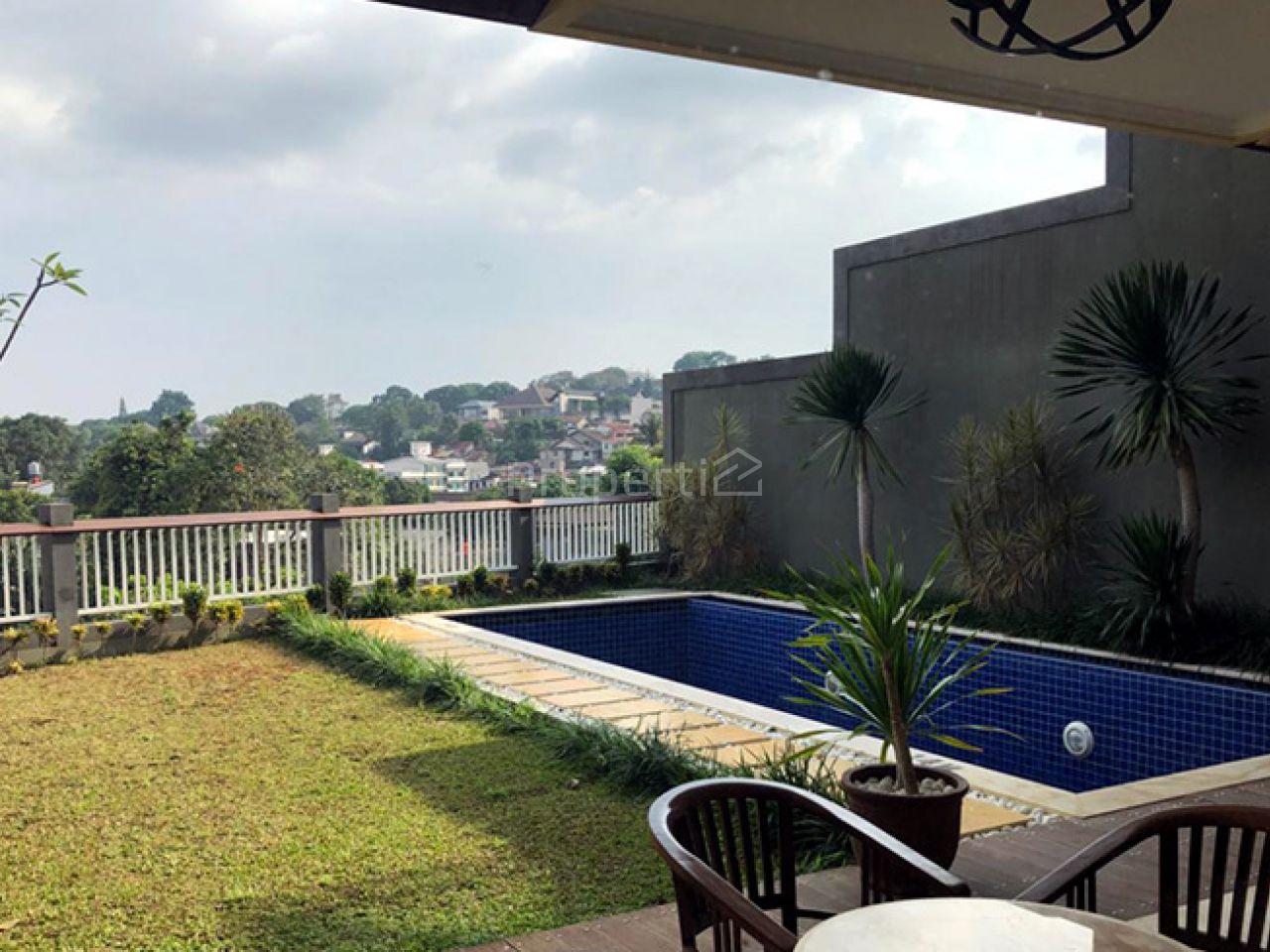 Rumah Baru Minimalis Modern 3.5 Lantai dengan Pool di Hegarmanah, Kota Bandung