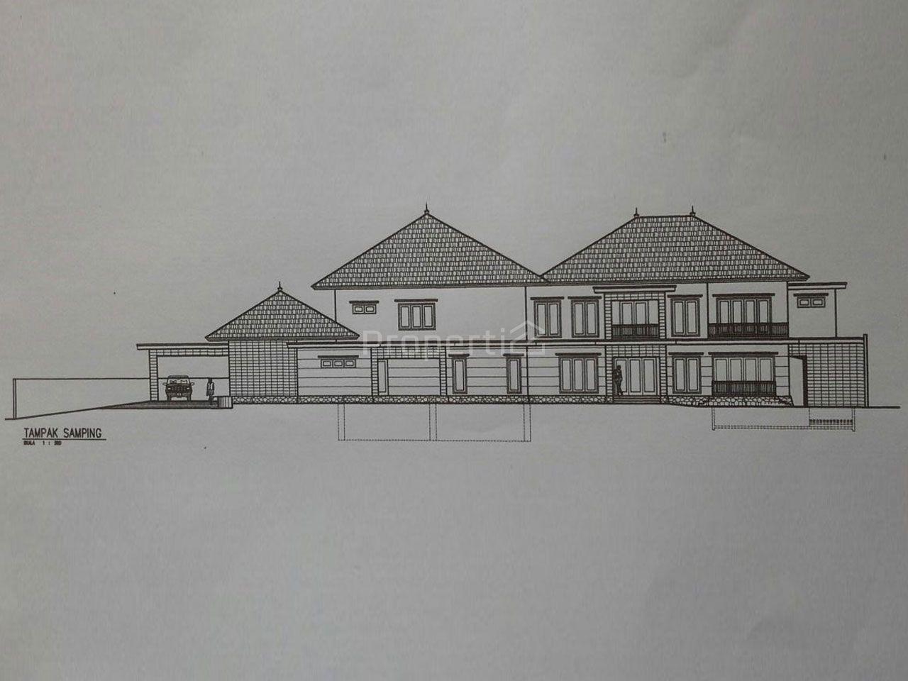 Unfinished Luxury House at Pondok Indah, Kebayoran Lama