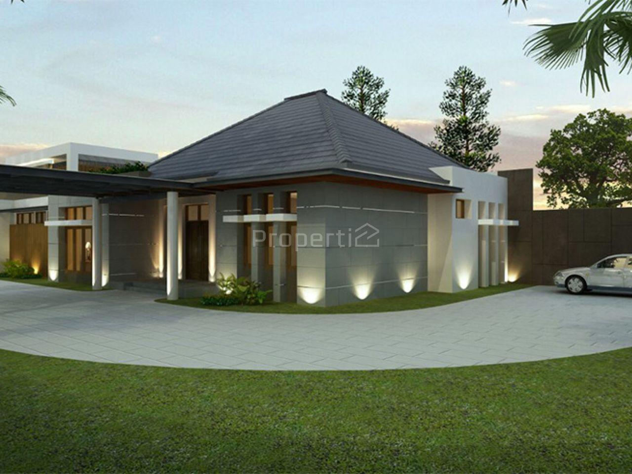 Rumah Mewah Baru di Cipaganti, Jawa Barat