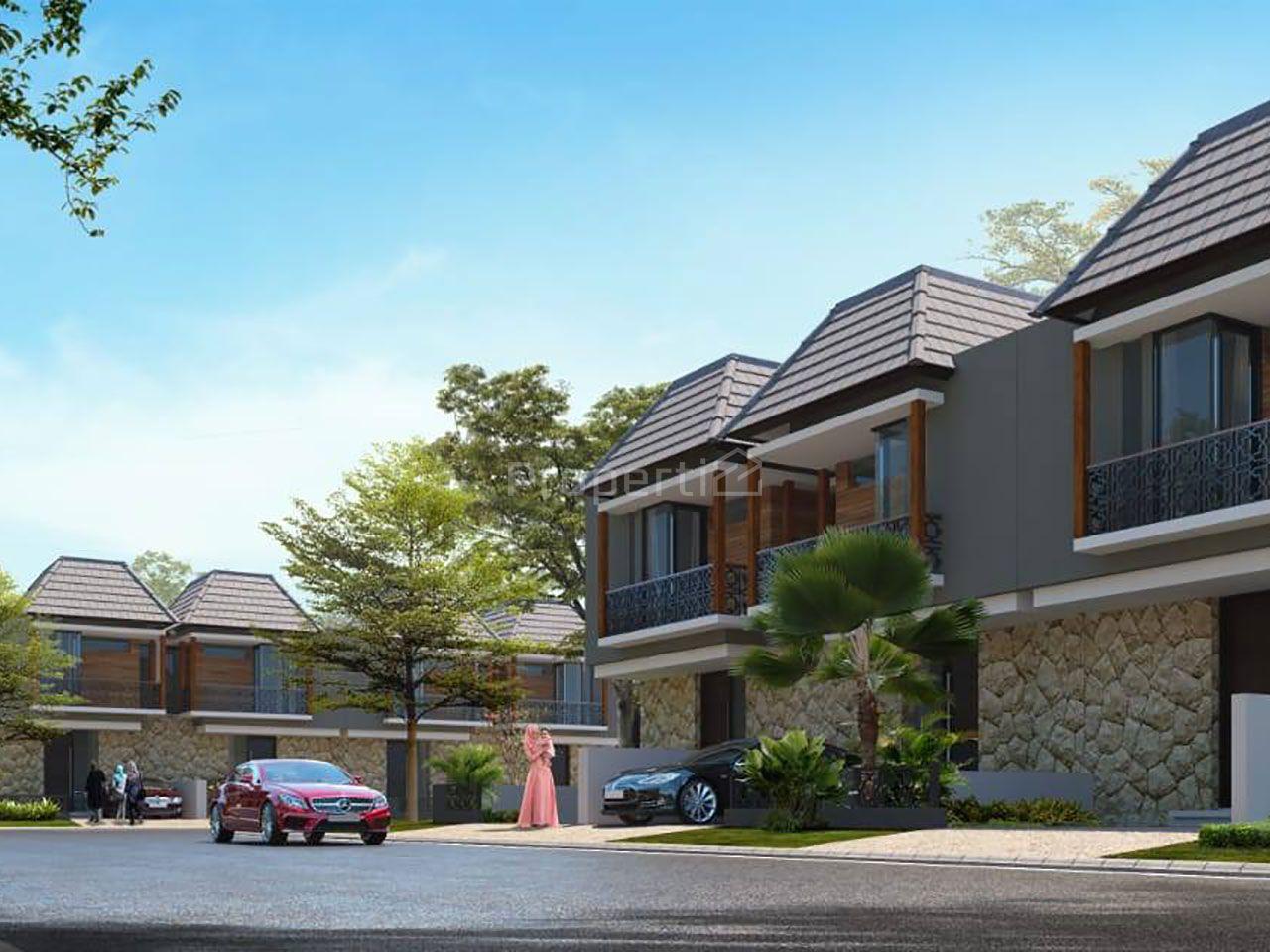 Rumah Modern dalam Hunian Islami di Kota Malang, Kota Malang