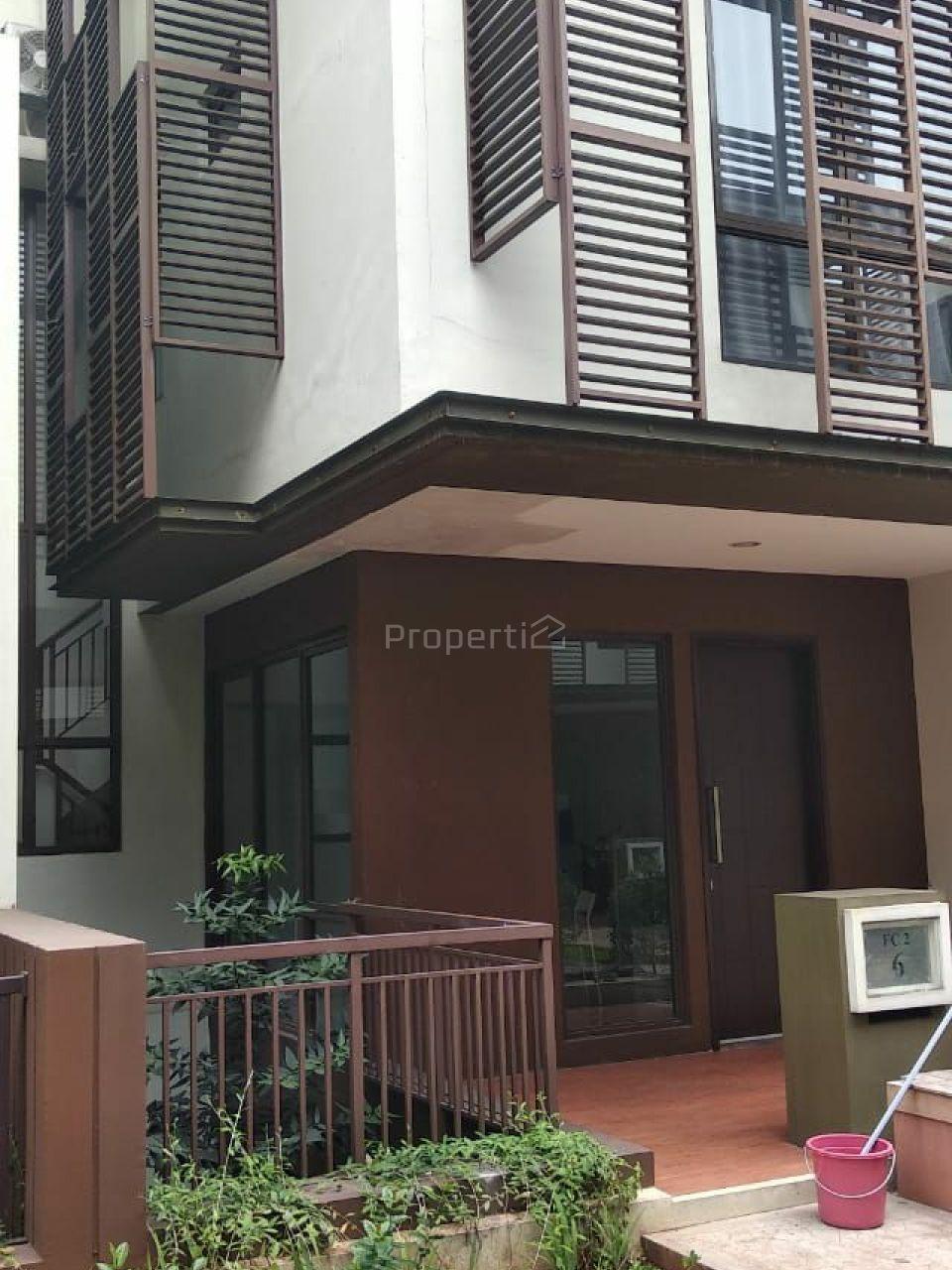 Rumah Modern di Cluster Whelford, BSD City, Banten