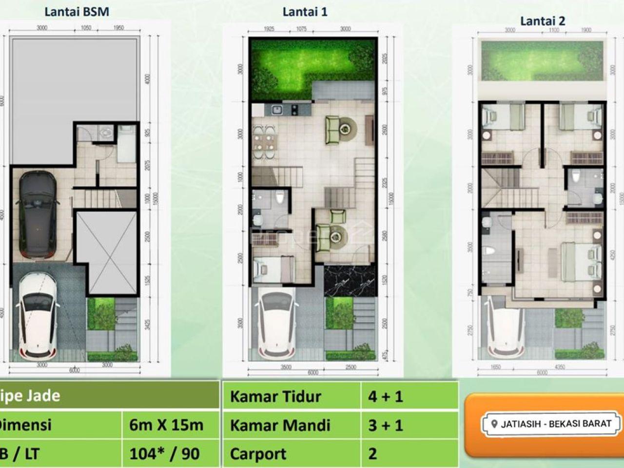 Modern House in Jatiasih, Kota Bekasi
