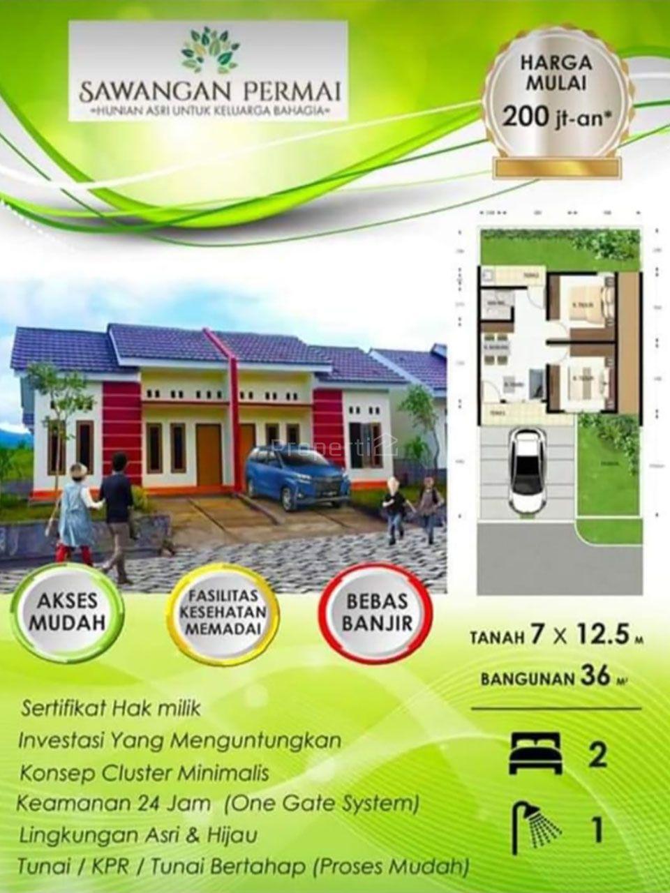 Rumah Perumahan di Sawangan Permai Manado, Paal Dua