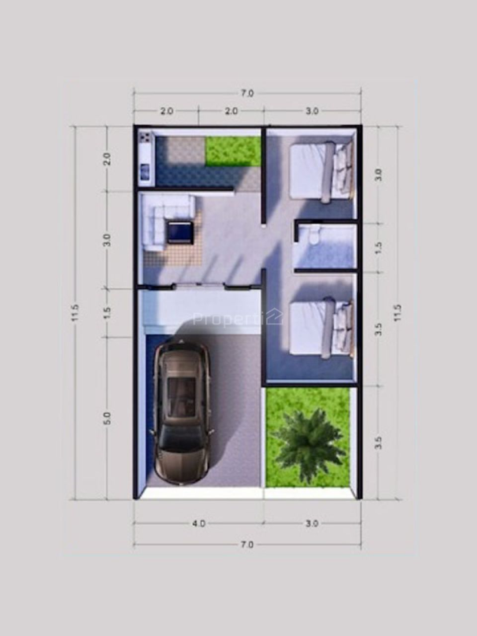 House Ready to Build in Middle of Malang City., Jawa Timur