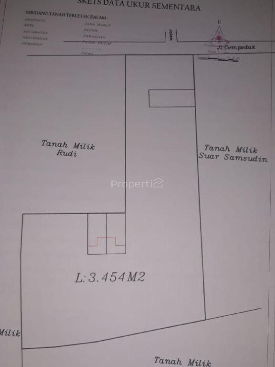 Take over Strategic land in Sawangan, Kota Depok