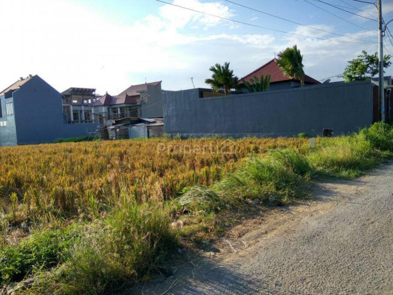 Tanah Kosong di Jalan Utama dalam Kawasan Villa, Canggu, Bali