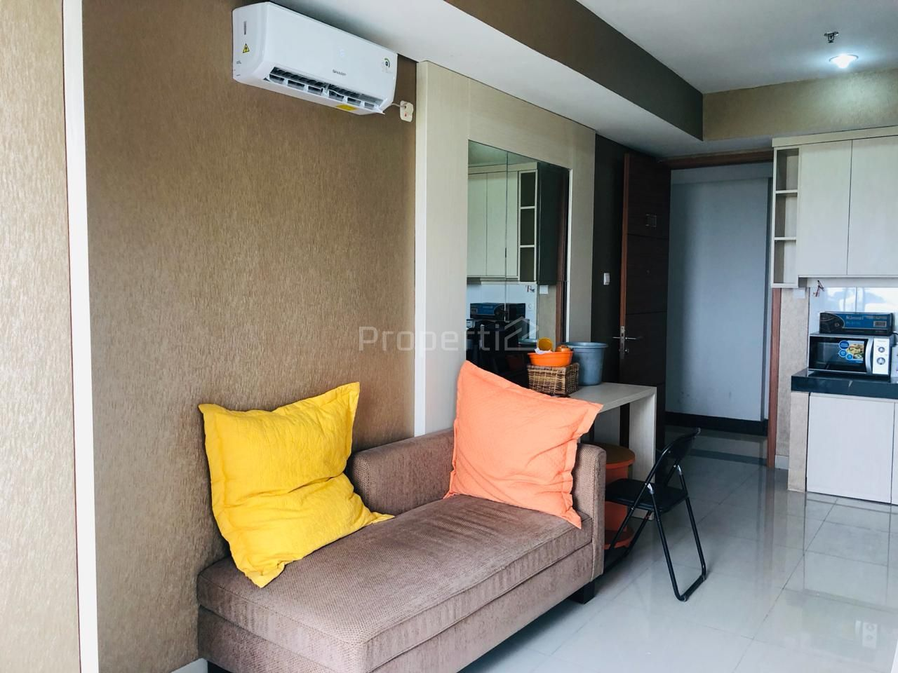 Unit Apartemen Brand New di Dago Suites Apartment, Lantai 3, Kota Bandung