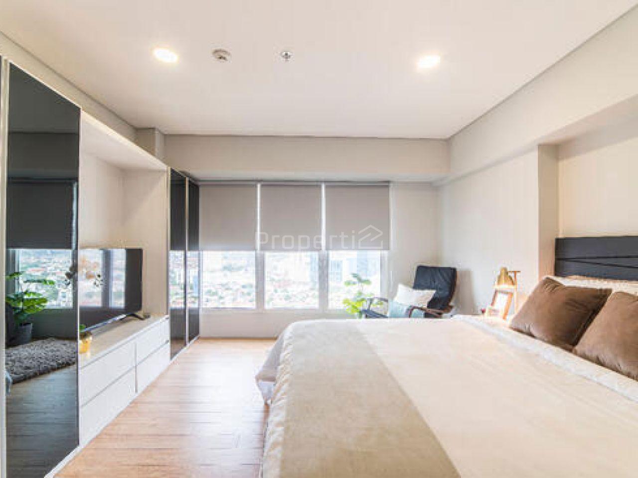 Unit Apartemen 2BR di MAQNA Residence, Lantai 20, Jakarta Barat