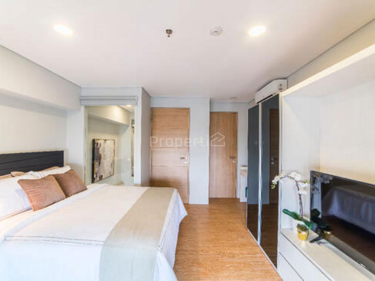 Unit Apartemen 2BR di MAQNA Residence, Lantai 20, Kembangan