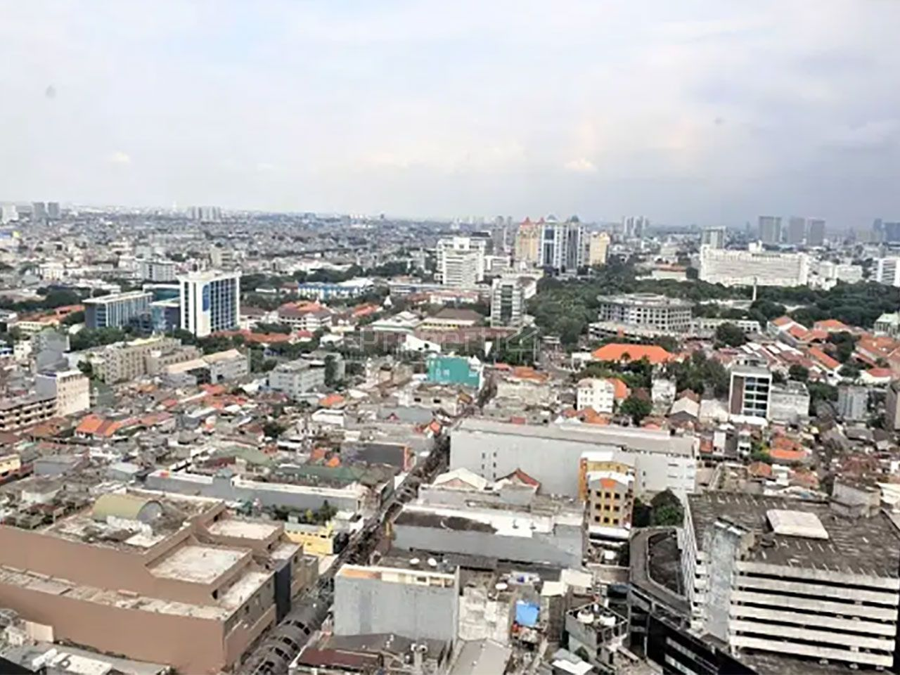 3BR Apartment Unit at A Tower Pasar Baru Mansion, 8th Floor, Jakarta Pusat