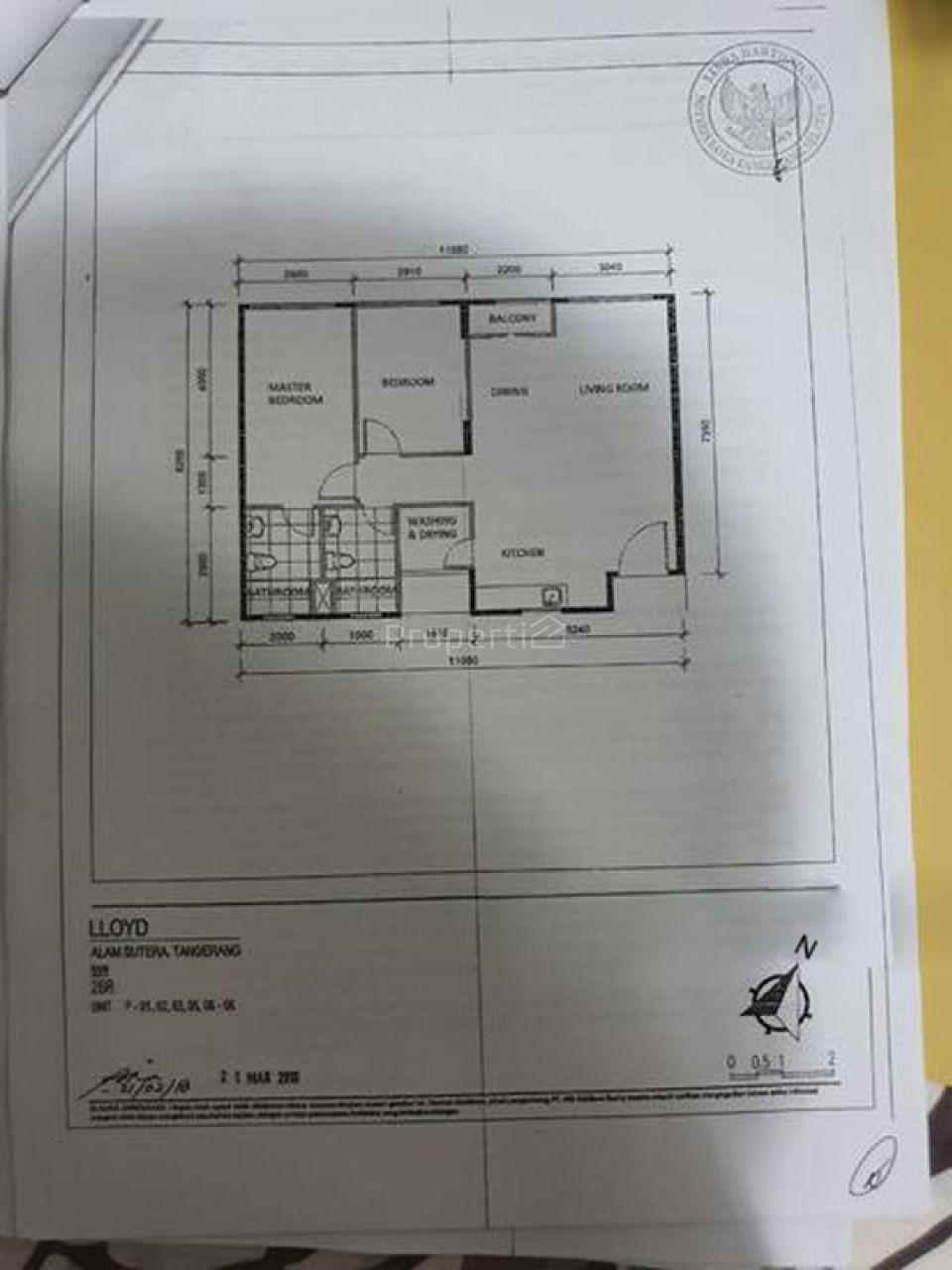 Unit Apartemen Baru di LLOYD Alam Sutera, Lantai 1, Banten