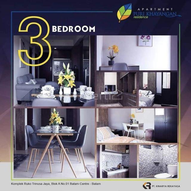 New Apartment Unit at Puri Khayangan Residence, Batam City, Batam