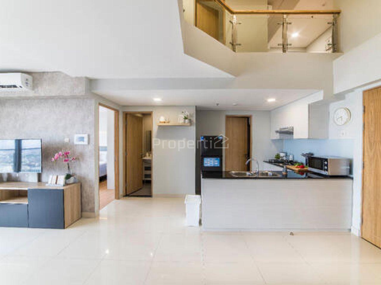 Unit Apartemen Luas di MAQNA Residence, Lantai 20, Jakarta Barat