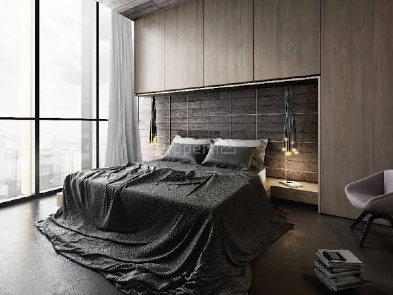 Unit Apartemen Modern di Apartemen Yukata Suites, Banten