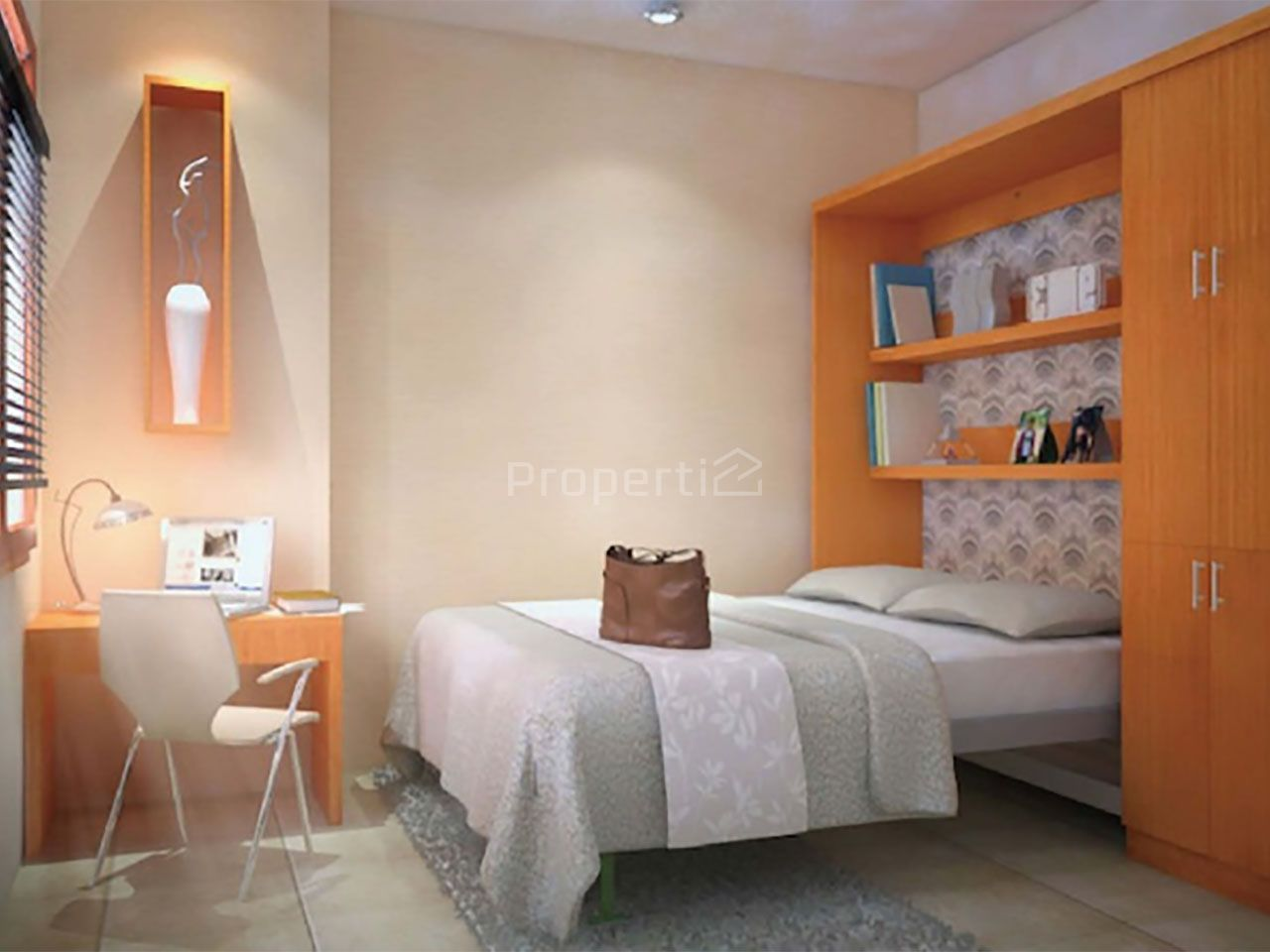 Unit Studio di Tower Gardenia Green Park View Apartment, DKI Jakarta