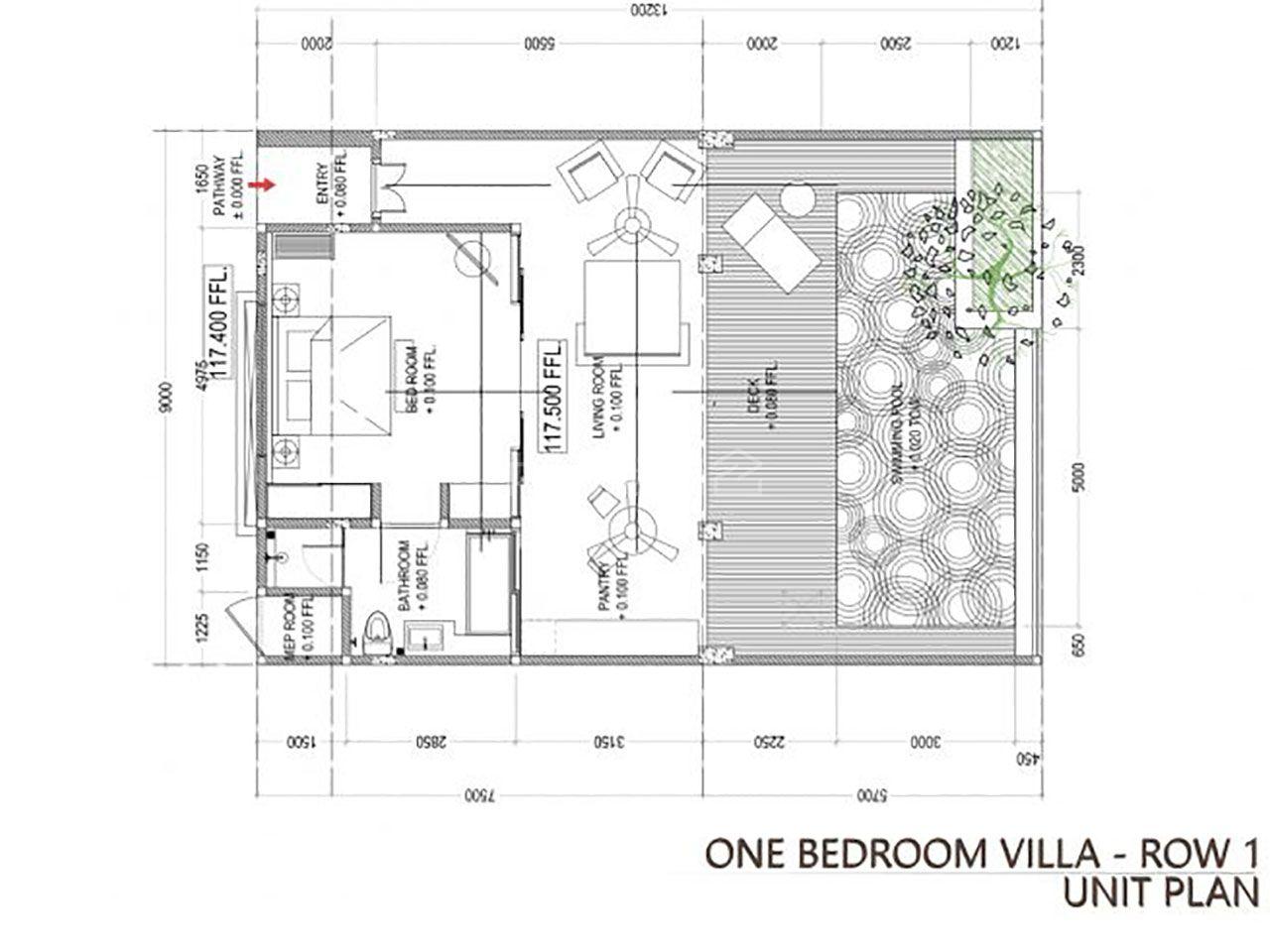 Villa with an Ocean View at Arka Ananta Villas & Spa, Kuta Selatan