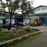 Gudang Eks Pabrik di Kawasan Industri Jatake, Tangerang