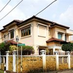 A Luxury House with a Swimming Pool on Main Road & Front of Park