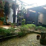 Rumah 2 Lantai dengan Taman dan Kolam Renang di Lebak Bulus